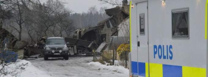 Två personer hittades döda efter en brand på norra Öland. Foto: Helmuth Petersson