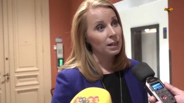 """Annie Lööf (C): """"Socialdemokraterna behöver återkomma"""""""
