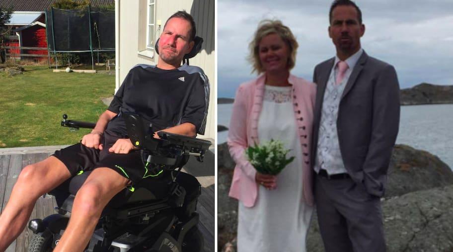 Håkan, 50, har ALS och är fast i sin rullstol – nekas hjälp av Försäkringskassan