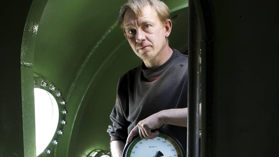 """Peter Madsen sitter häktad för """"manddrab"""". Foto: NIELS HOUGAARD / AP TT NYHETSBYRÅN"""