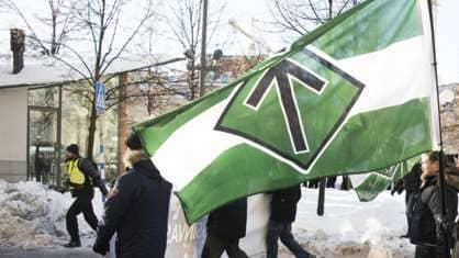 Nazistiska Nordiska motståndsrörelsen.