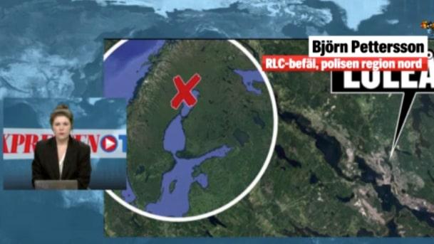Man skjuten av polis i Luleå – kritiskt skadad