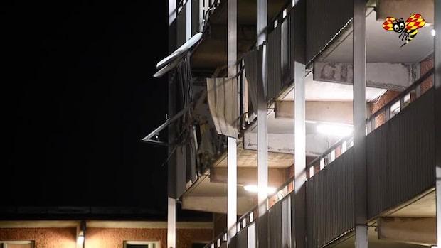 Dubbla explosioner i Stockholm i natt – en person skadad