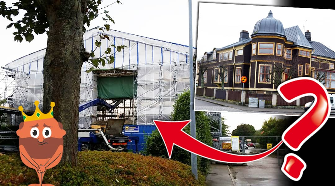 Heijlska villan i Varberg verkar ha försvunnit Leva& bo