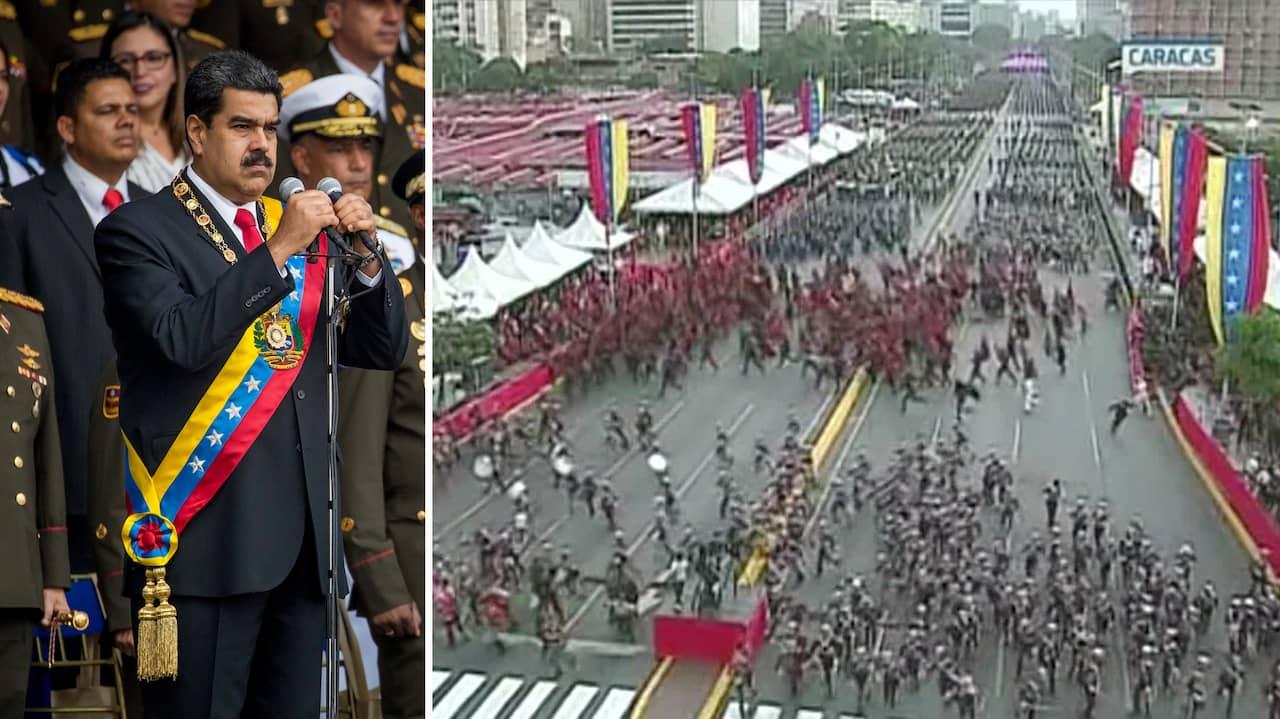 Nio planerade morda venezuelas president