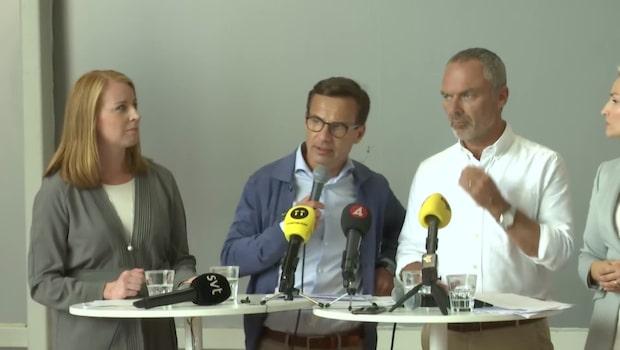 """Alliansen presenterade klimatförslag: """"Vill uppmuntra teknikförändringar"""""""