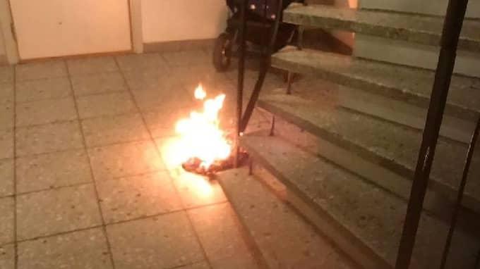 I helgen anlades fyra bränder i lika många trapphus i ett bostadsområde i Lysekil. Foto: Lysekilsbostäder