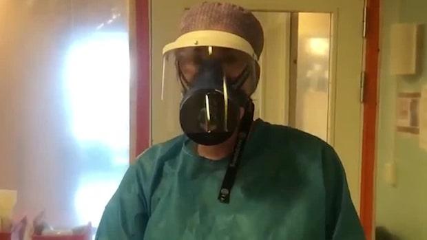 """Intensivvårdssjuksköterskan Carina: """"Så här ser vår vardag ut nu"""""""