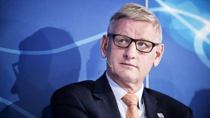 """I telegrammet står det bland annat att Carl Bildt är den som """"försvarar regeringens ställningstagande"""" och """"betonar Saudiarabiens viktiga roll både i arabvärlden och i den muslimska världen"""" samt att """"det ligger i Sveriges intressen att förstärka relationen"""" med Saudiarabien. Foto: Anna-Karin Nilsson"""