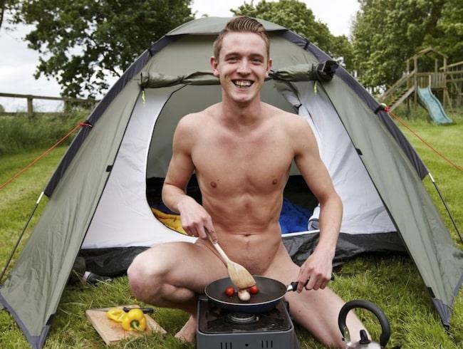 <span>Det finns särskilda campingar för naturister runt om i landet.</span>