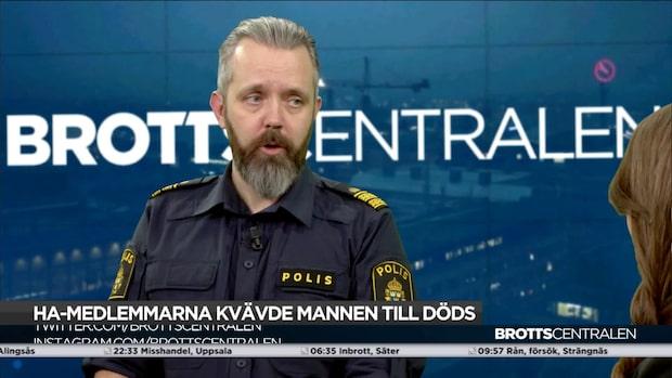 """Johan Heeds uppmaning om Hells Angels: """"Ha inget med dem att göra"""""""