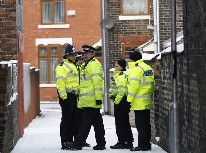Polisen grep terrormisstänkta i tre olika engelska städer. Foto: Darren Staples