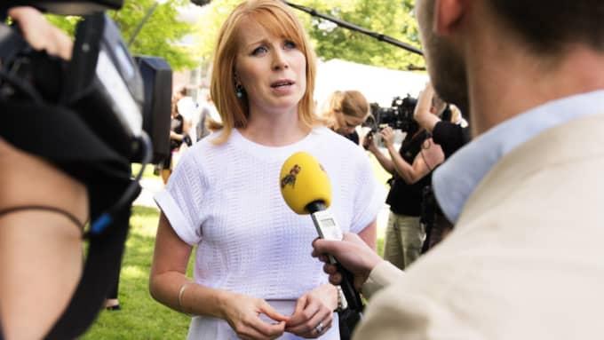 Centerledaren Annie Lööf var snabb med att kritisera förslagen från regeringen. Foto: Anna-Karin Nilsson