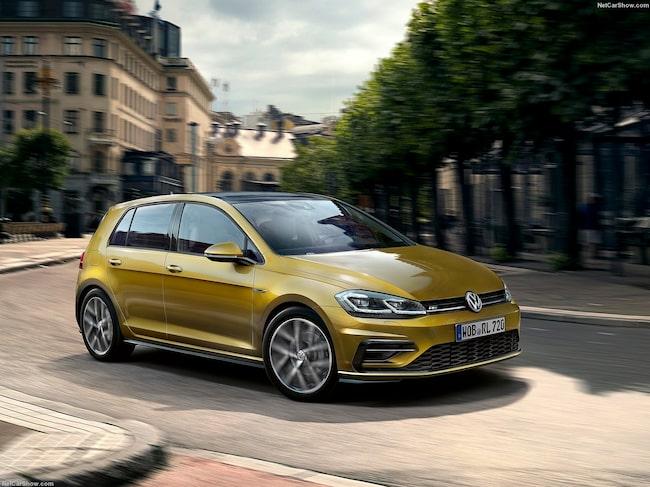 Volkswagen Golf toppar listan över mest sålda begagnade bilmodeller på Wayke.