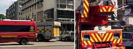 Hotell evakuerades efter brand i köket