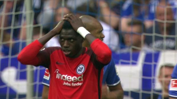 Höjdpunkter: Schalke-Frankfurt
