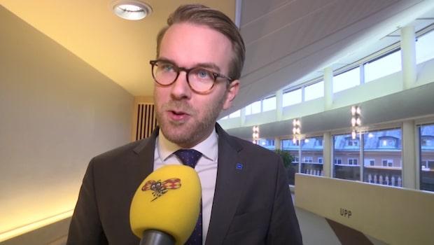 """Andreas Carlson (KD): """"Antisemitismen är ett gift i vårt samhälle"""""""