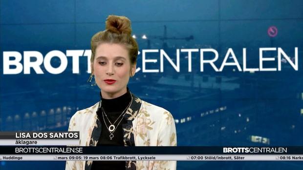 """Lisa dos Santos om svetsarens iskyla: """"Väcker inga sympatier i rätten"""""""