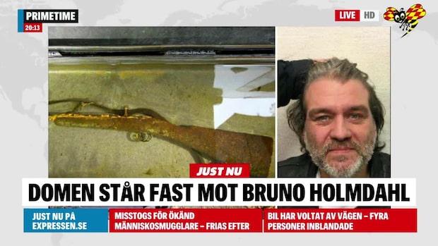 Bruno Holmdahl sköt ihjäl man – domen står fast