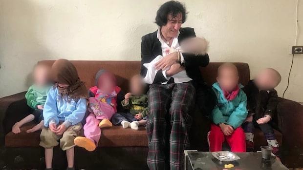 Patricio vill förhandla med kurderna om barnbarnen