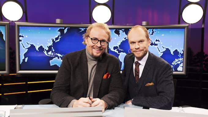 Fredrik Lindström och Kristian Luuk leder programmet för åttonde året i rad. Foto: JAN WIRIDEN / GT/EXPRESSEN