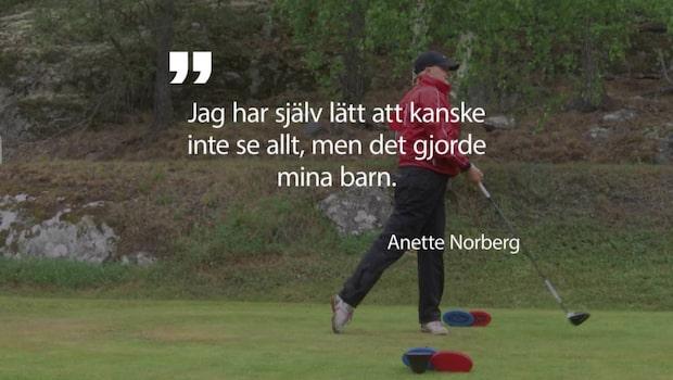 Anette Norberg om svåra tiden efter OS-guldet