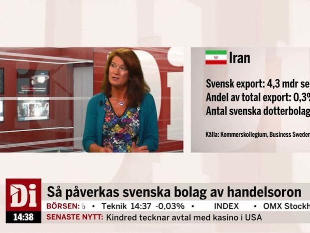 Linde: Kommer bli nästintill 0 export till Iran