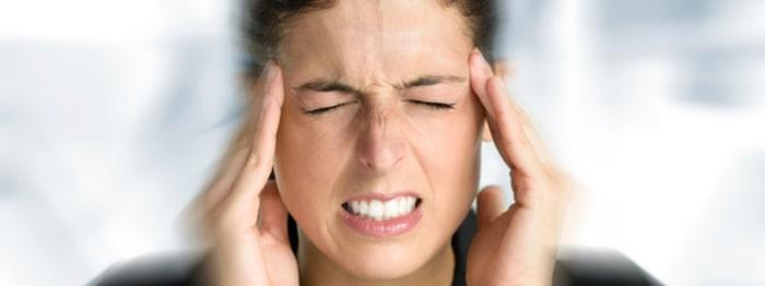 bihåleinflammation ont i huvudet