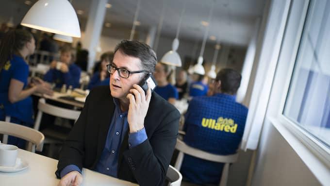 Jan Wallberg ser ingen gräns för hur stort Gekås Ullared kan bli. Foto: ROBIN ARON