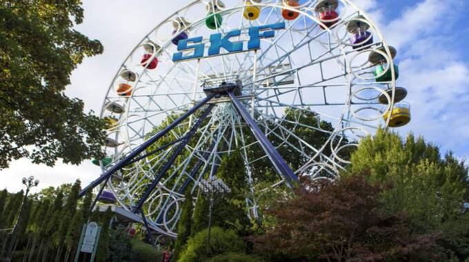 Pariserhjulet har funnits sedan 1967, men nu försvinner klassikern från Liseberg efter säsongen. Foto: Henrik Jansson