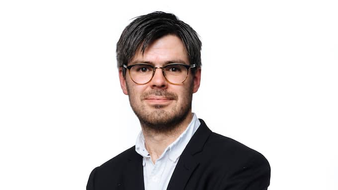 Joel Halldorf, kulturskribent och docent i kyrkohistoria. Foto: MIKAEL SJÖBERG