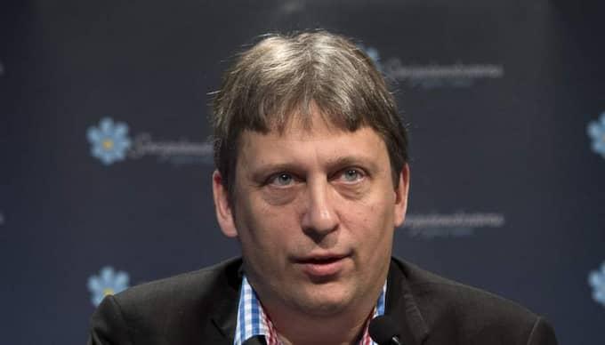 Michael Rosenberg, ordförande Sverigedemokraternas valberedning. Foto: Sven Lindwall