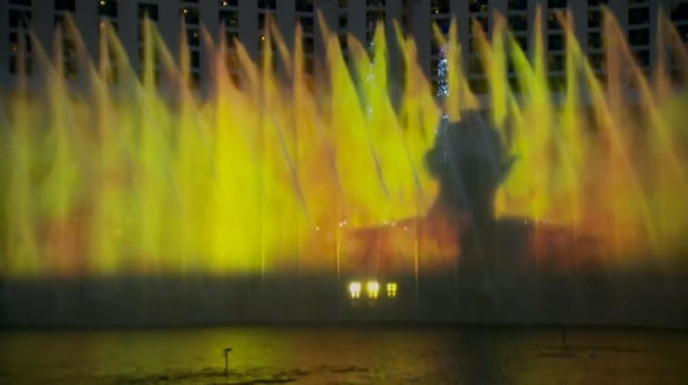 Game of Thrones tar över Bellagio-fontänen i Las Vegas
