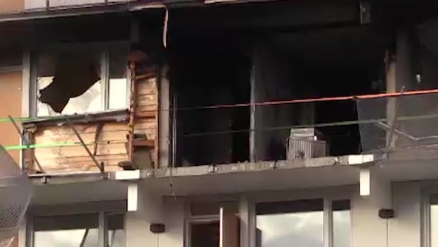En person död i lägenhetsbrand