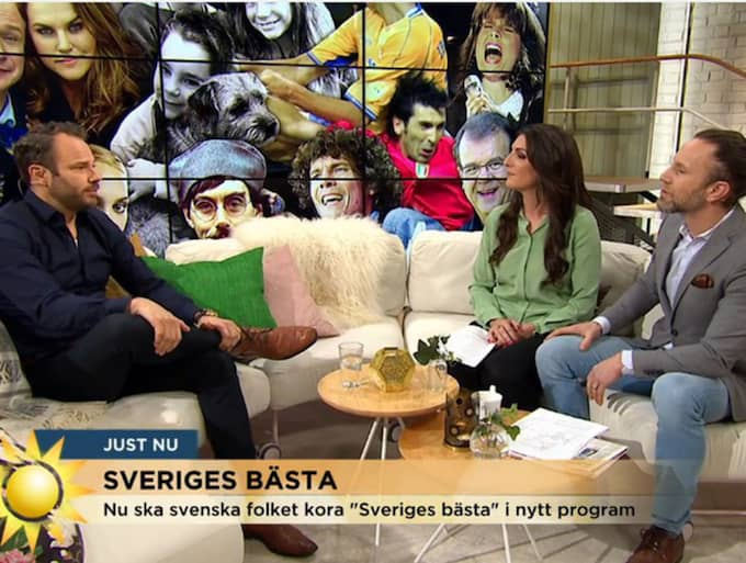 "David Hellenius i TV4:s ""Nyhetsmorgon""."
