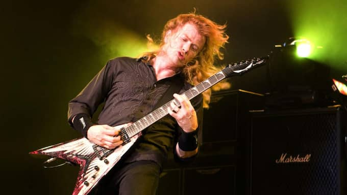 Dave Mustaine Foto: Roger Vikström