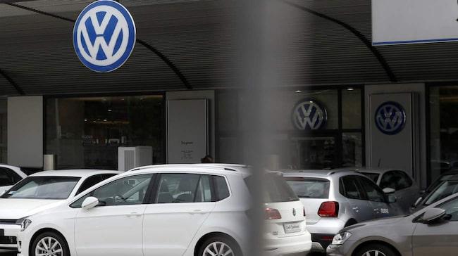 <span>Volkswagens kontor i Milano, Italien.</span>