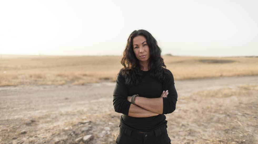 Expressens Magda Gad är på plats i Mosul. Foto: Expressen / CHRISTOFFER HJALMARSSON EXPRESSEN