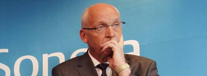 Telias koncernchef Lars Nyberg behöver fundera ut vad han ska svara på alla frågor kring Uzbekistan. Foto: Cornelia Nordström