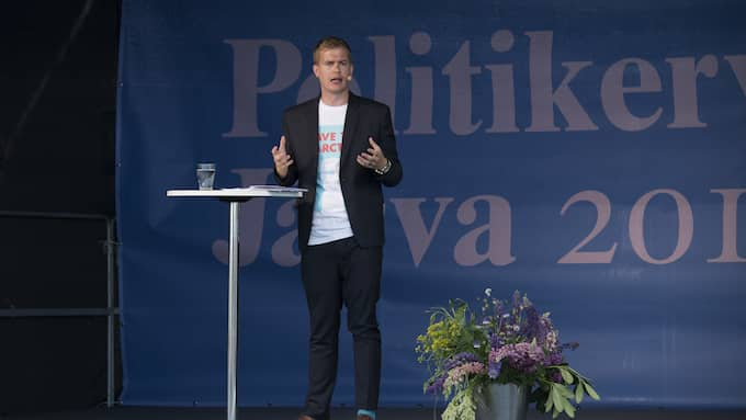 Gustav Fridolin (MP) Foto: SVEN LINDWALL