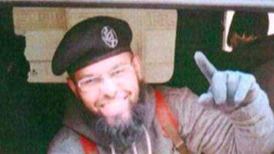 Inte heller hovrätten tror på Ahmad Qadans förklaringar. Den här bilden togs i Syrien och beslagtogs av Säkerhetspolisen. Foto: Polisen