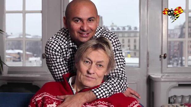 SVT:s julsatsning med Lars Lerin och kärleken Junior