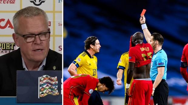 """Gustav Svensson utvisad mot Portugal: """"Det avgjorde matchen"""""""