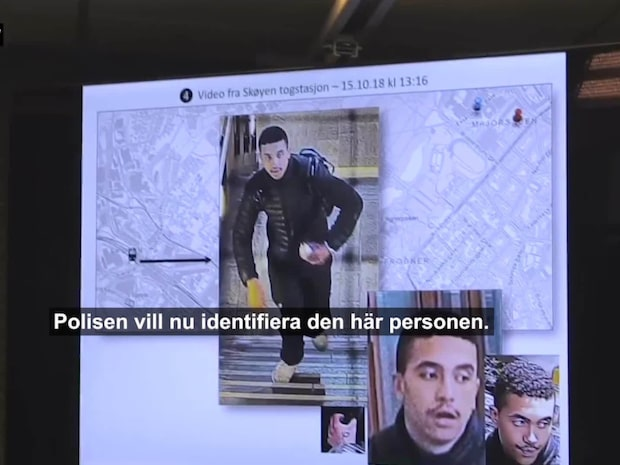 Misstänkt mördare jagas i Oslo