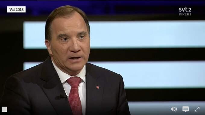 Stefan Löfven försökte förklara sexuella trakasserier med problem på arbetsmarknaden vilket ledde till kritik. Foto: SVT