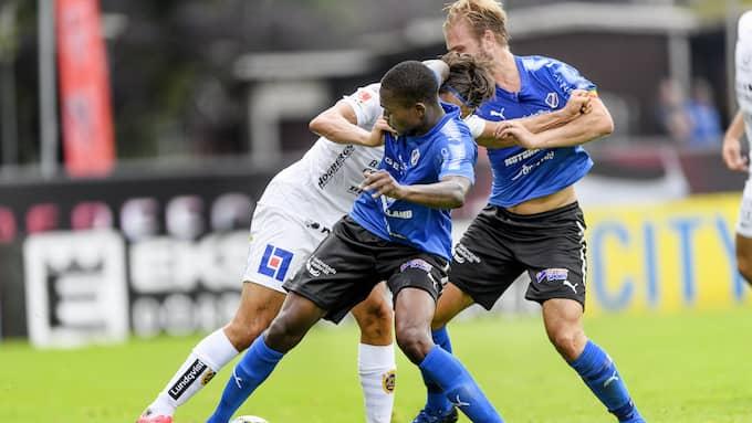 Halmstad körde fast mot Sirius och förlorade med 3–0. Foto: KRISTER ANDERSSON / BILDBYRÅN