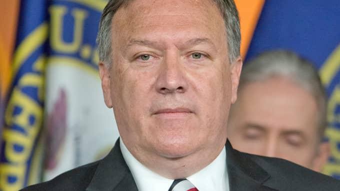 CIA-chefen Mike Pompeo ersätter Rex Tillerson på posten som utrikesminister. Foto: RON SACHS / CNP / POLARIS