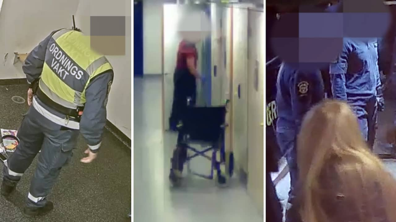 Vakterna avslöjas på film: slår försvarslösa och kastar urin