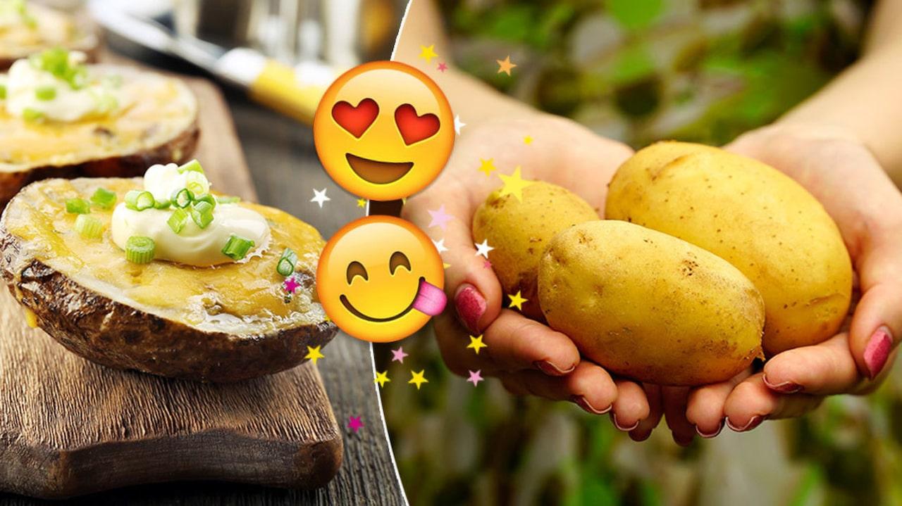 vad göra med kokt potatis
