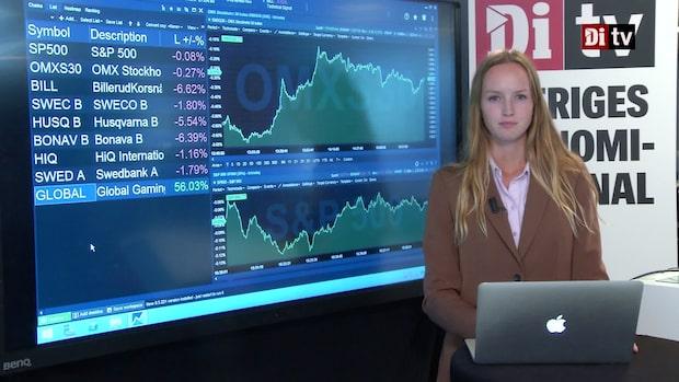 Di Nyheter 15:30 - flertalet rapporterande bolag handlas ner